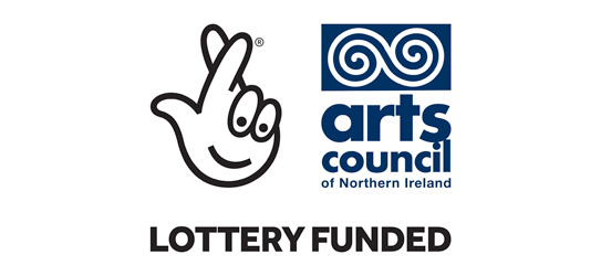 Lotter Funded arts council of Northern Ireland