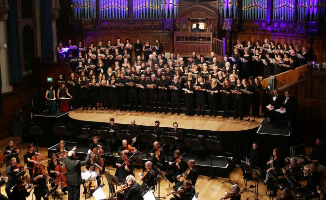 Ulster Orchestra & Festival Chorus performance in the Guildhall